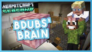 Inside Bdubs' BRAIN!!! - Minecraft Hermitcraft Season 8 #7
