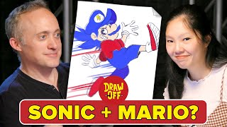 Animator Vs. Cartoonist Try Character Mashups • Draw Off