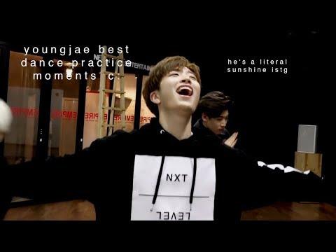 youngjae best dance practice moments