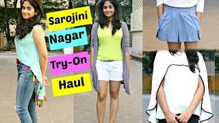 Sarojini Nagar Try-On Haul || Tips for shopping in Sarojini Nagar| Slick and Natty
