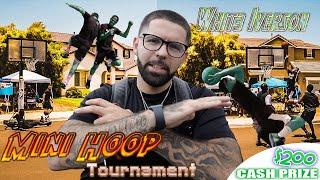 Best 2v2 Mini Hoop Tournament EVER! Cash Prize!
