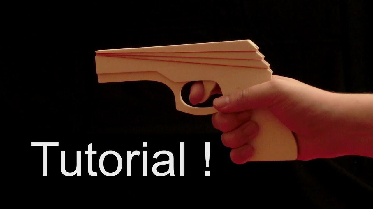 Tutorial Step Up Action Rubber Band Gun Youtube