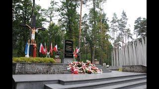 Miniatura video: Przemówienie Wójt podczas obchodów 81. rocznicy niemieckiej zbrodni w Lesie Szp�