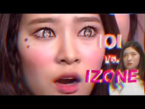 Which IZONE Member Resembles the IOI Member?