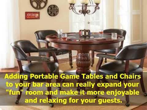 Collections Of Portable Game Tables and Chairs