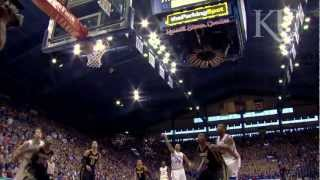 Game day at KU's Allen Fieldhouse 2012