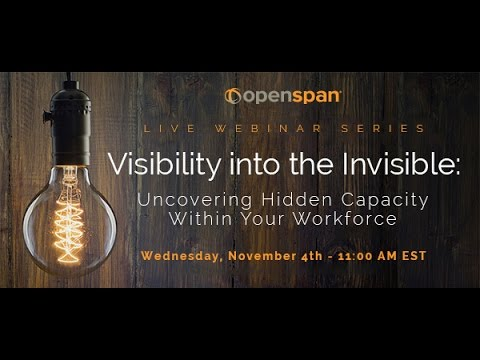 Openspan Workforce Intelligence Webinar 2015