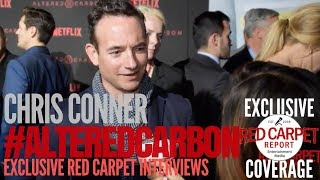 Chris Conner interviewed at Premiere of Netflix's #AlteredCarbon #NowStreaming #AltCarb