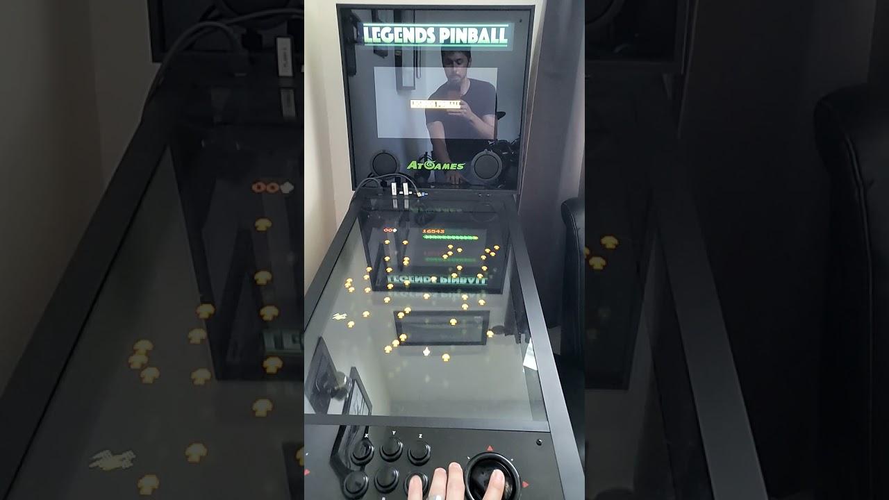 Legends Pinball 2 in 1 arcade gaming machine