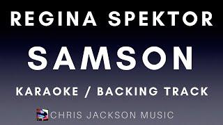 Samson - Regina Spektor (piano backing / karaoke / instrumental) FREE