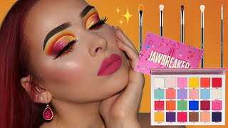 Jeffree Star Jawbreaker Palette Makeup Tutorial | ft. MY FAVOURITE EYE BRUSHES