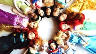 Disney Store Disney Princess doll collection