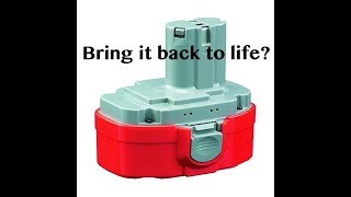 Can you regenerate a dead power tool battery?