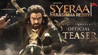Sye Raa Narasimha Reddy teaser-Chiranjeevi..