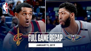 Full Game Recap: Cavaliers vs Pelicans | Anthony Davis Shines Against Cleveland