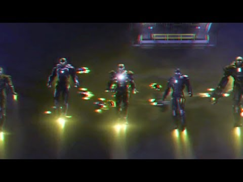 Iron Man 3 - Clip (2013)(3D)(Side By Side) Is Christmas
