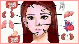 Mụn trên mặt là dấu hiệu của bệnh lý gì? | Bí quyết làm đẹp Á Đông