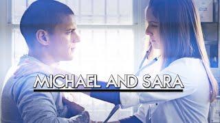 Michael and Sara - Bleeding out | Prison Break