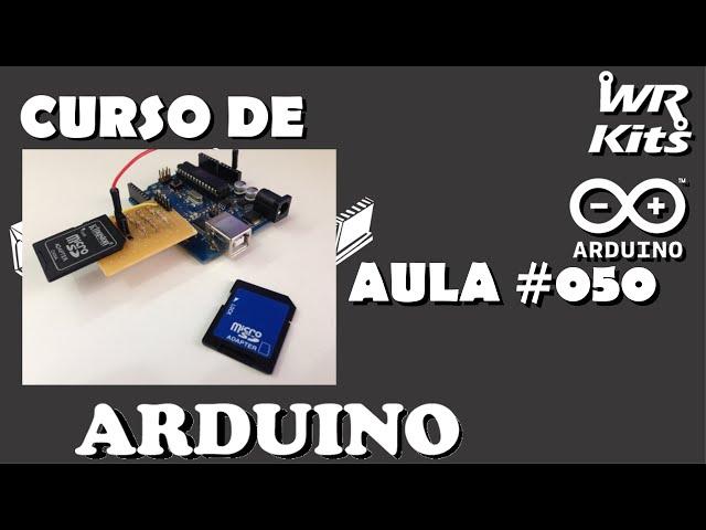 FAÇA UM SHIELD PARA CARTÃO SD | Curso de Arduino #050