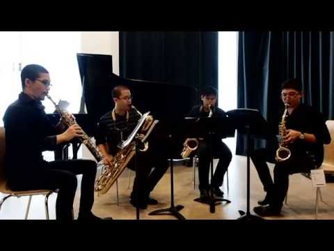 Be Bike for Saxophone Quartet by Suppakarn Silpvisuth