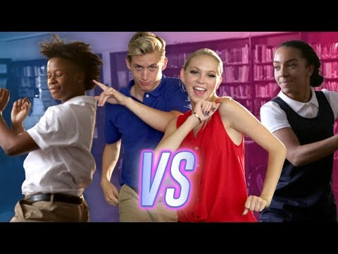 DANCE BATTLE | BOYS VS GIRLS | Girls Like You - Maroon 5 - Choreo by Josh Killacky