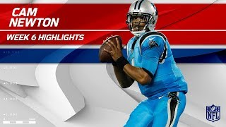Cam Newton's 2 TDs & 310 Total Yards! | Eagles vs. Panthers | Wk 6 Player Highlights