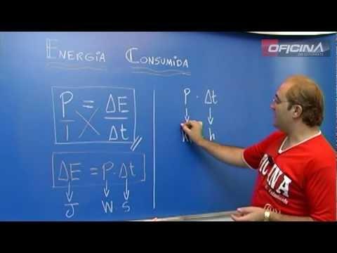 Dica de Física - Energia Consumida