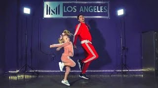 Everleigh Performs First Professional Hip Hop Routine! (Feat. Matt Steffanina)