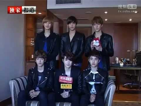 120921 EXO-K - Interview With SoHu