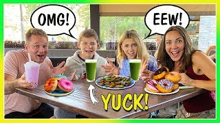 SWITCHING DIETS with KIDS for 24 HOURS | We Are The Davises