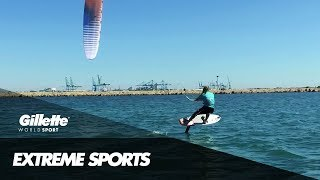 Get To Know Alex Caizergues - Professional Kiteboarder | Gillette World Sport