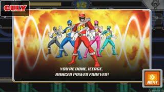 gameplay kyoryuger beats boss power rangers