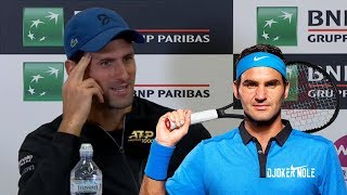 "Novak Djokovic ""I'm not Federer so I can't really answer"" - Rome 2019 (HD)"