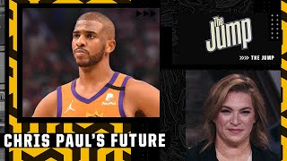 Ramona Shelburne believes Chris Paul will decline player option and resign with the Suns | The Jump
