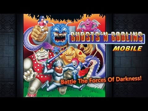 Ghosts'n Goblins MOBILE - Gameplay Android et iOS (iPhone / iPad ...