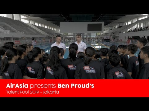 AirAsia Presents Ben Proud's Talent Pool 2019 - Jakarta Clinic Recap