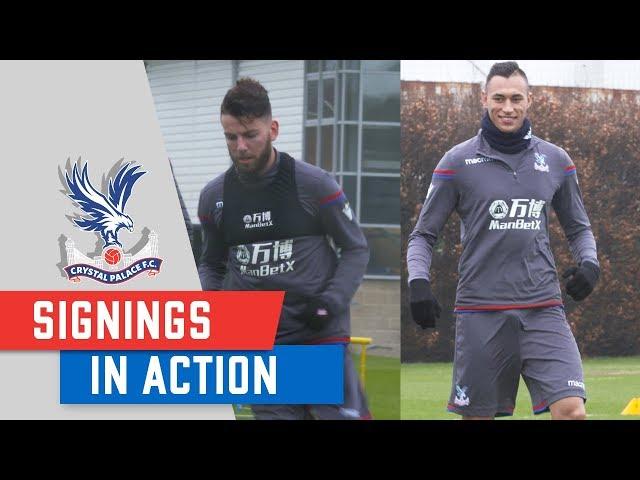 Pierwszy trening Jacha w Crystal Palace! [VIDEO]