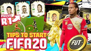 10 ESSENTIALS for How To Start FIFA 20!