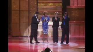 Whitney Houston, Luther Vandross, Dionne Warwick, Stevie Wonder LIVE - Thats What Friends Are For