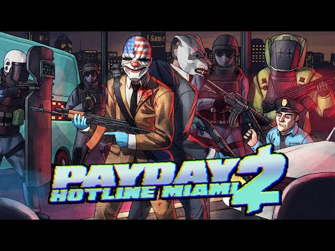 Payday 2: The Dream Team (Hotline Miami Heist)