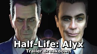 Half Life: Alyx Trailer Breakdown