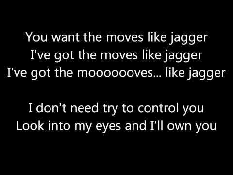 Maroon 5 - Moves Like Jagger [Lyrics]
