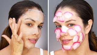 DIY LIFE HACKS | DIY Face Masks and More Beauty Hacks by Blossom