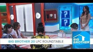 BB20   Tuesday LFC Roundtable  - Sept 18, 2018