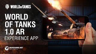 Приложение World of Tanks 1.0 AR Experience на Android