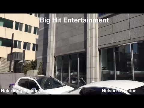 Big Hit Entertainment (new building)