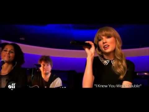 Taylor Swift - I knew you were trouble. (acoustic)
