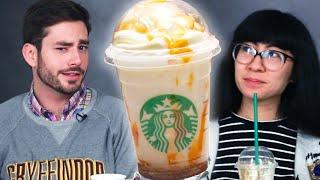 People Try Secret Harry Potter Starbucks Butterbeer