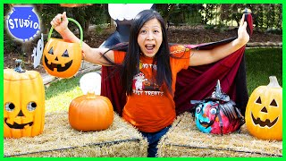 TRICK OR TREATING 2020! Ryan's Mommy Halloween Trick or Treat Challenge