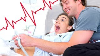 HEARING OUR BABY'S HEARTBEAT FOR THE FIRST TIME!